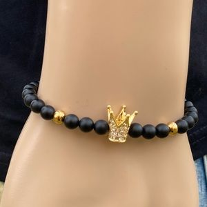 men's crown bracelet